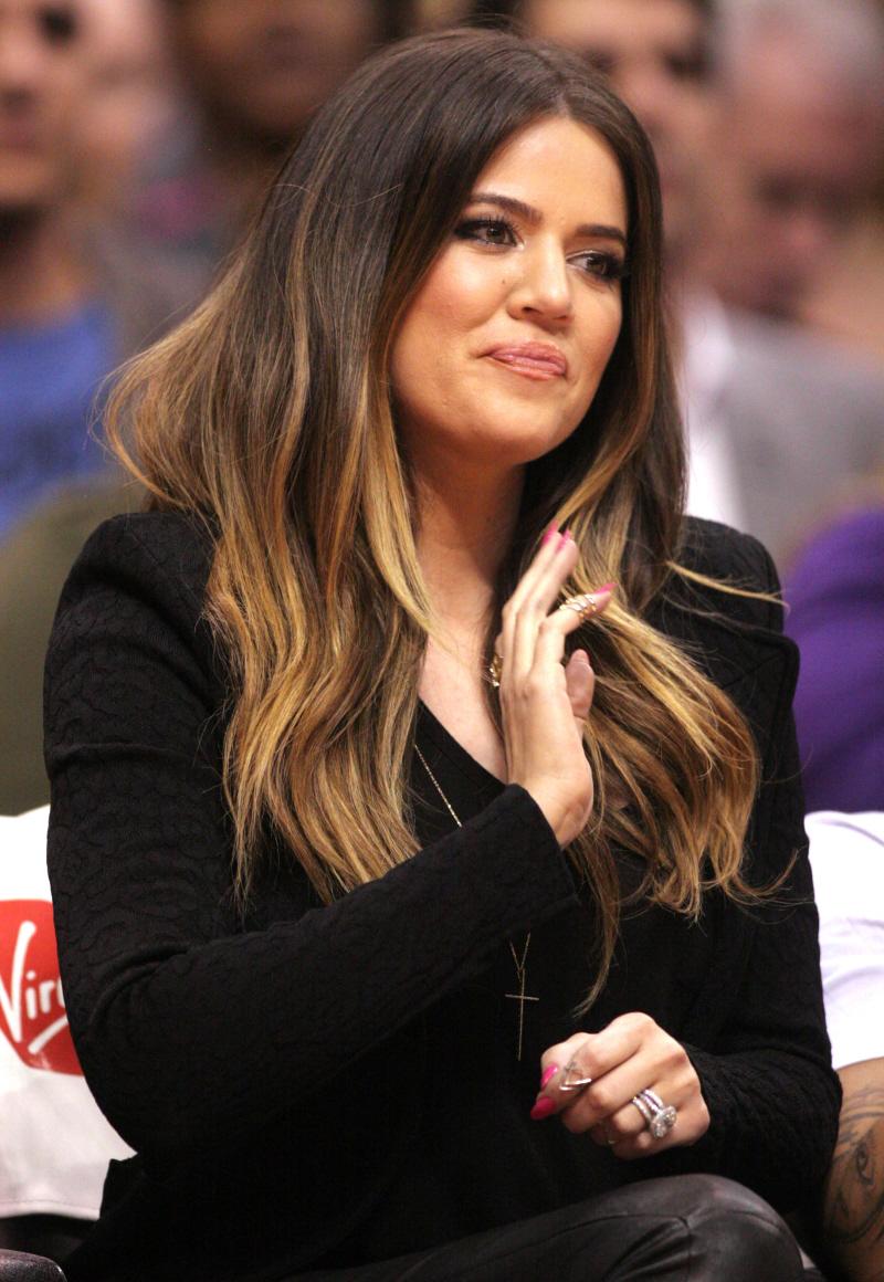 Khloe Kardashian Hair Khloe kardashian and lamarKhloe Kardashian Hair Dark On Top Light On Bottom