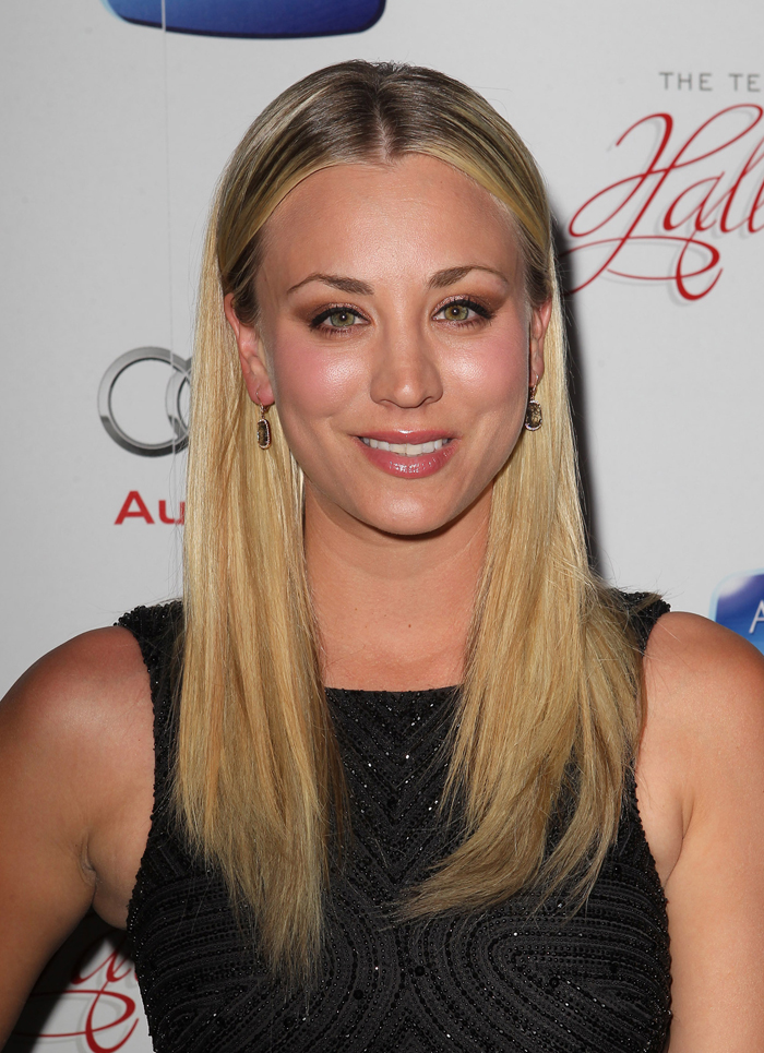 Cele Bitchy Kaley Cuoco Regrets Her Sags Bangs A Black