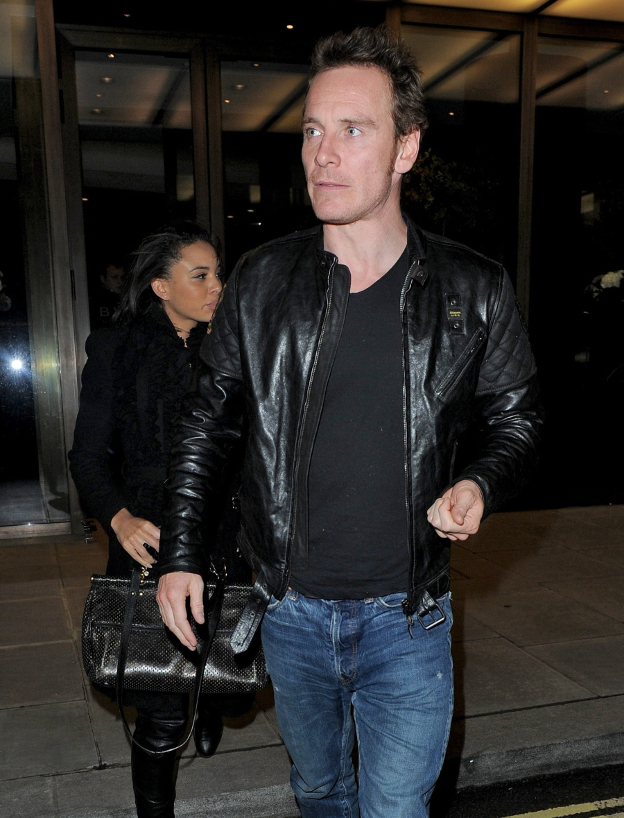 Michael Fassbender doing the long-distance dating thing with Olympian ...