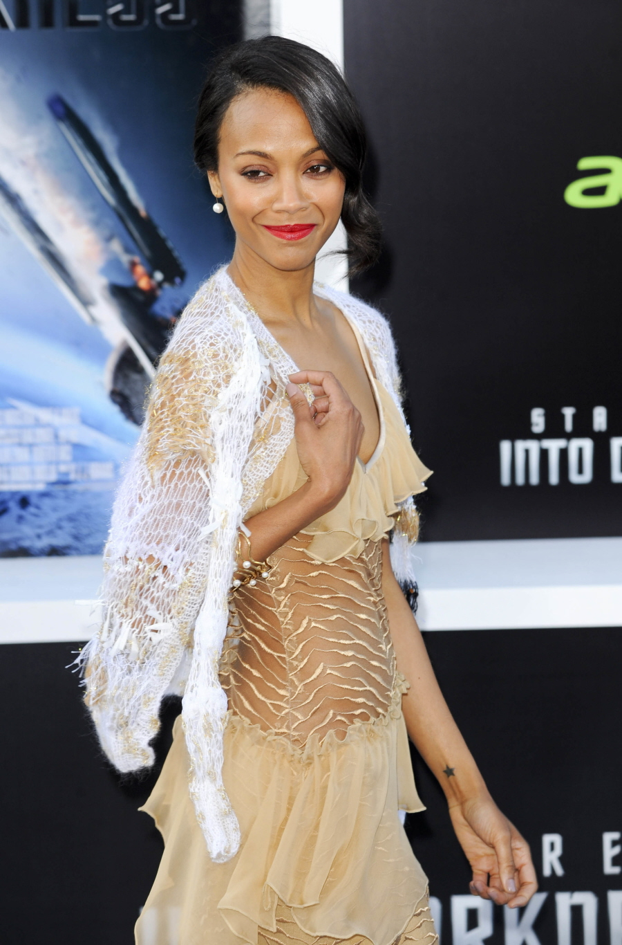 the gallery for gt zoe saldana