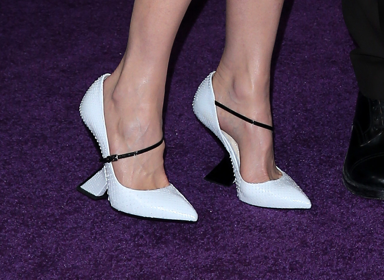 decent (for him)   I just want him to button one more button and STOP WITH THE FLAT-IRON. Oh, would you like a better look at Nicole's Dior shoes