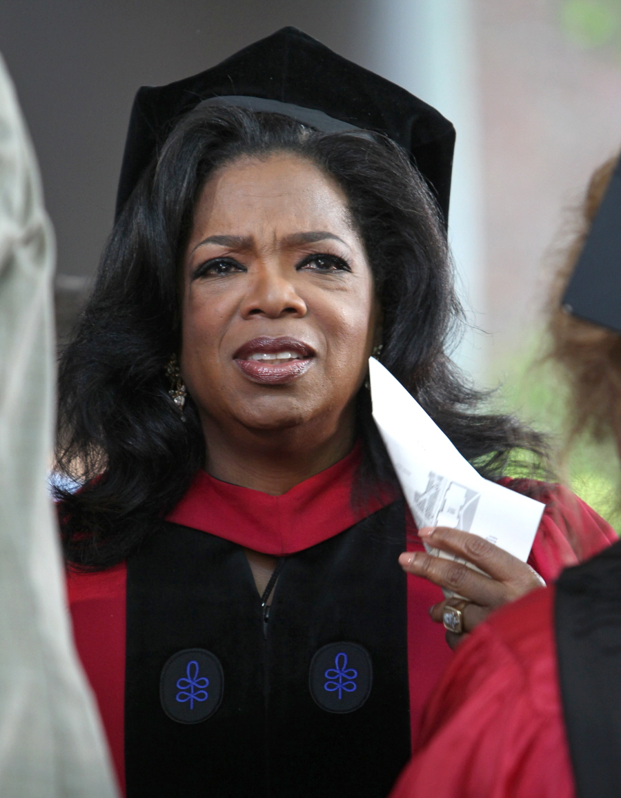 What are some obvious differences between Oprah Winfrey and Jerry Springer?