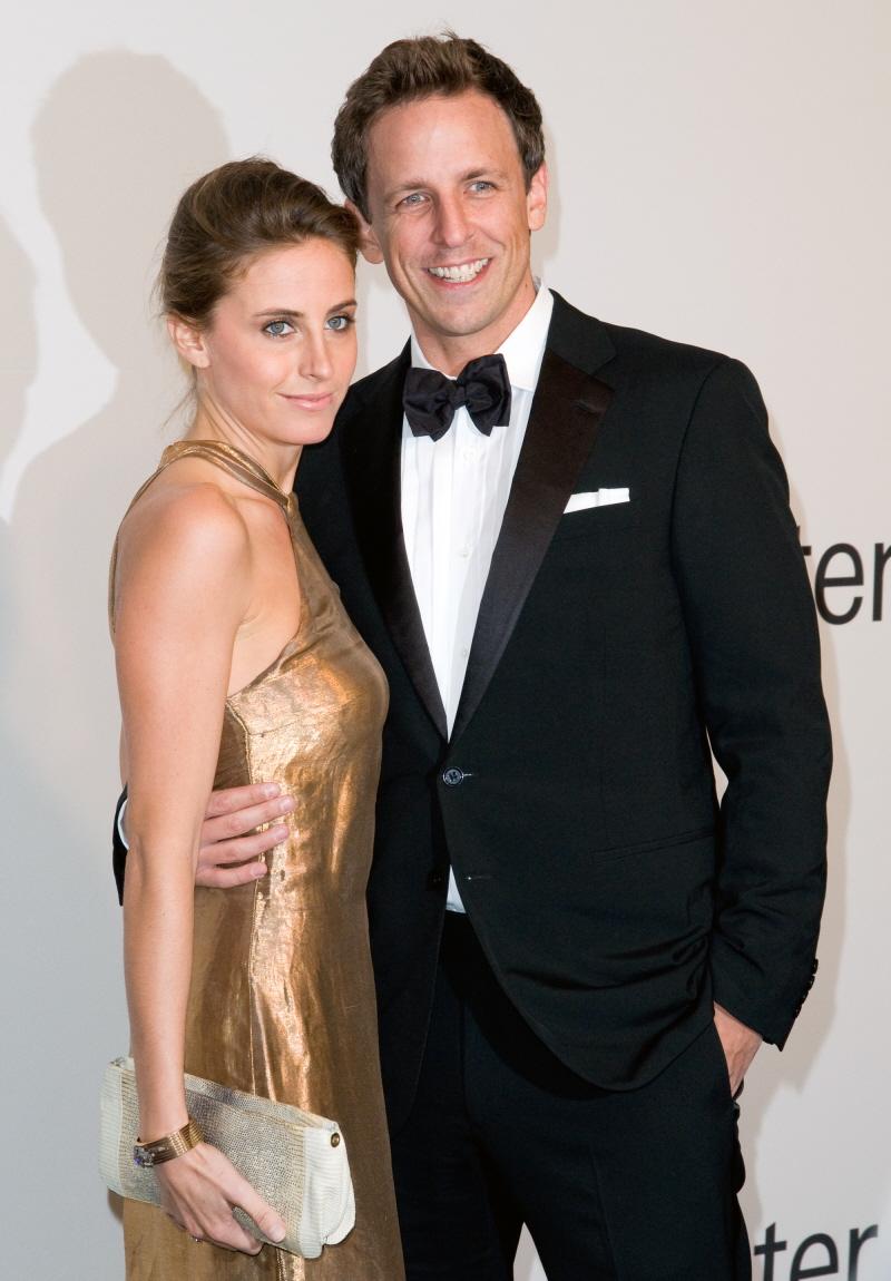 Celebrities Famous girlfriend Seth Meyers girlfriend