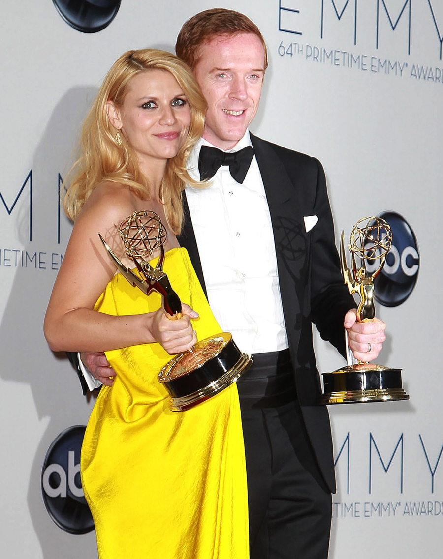 Damien Lewis, Claire Danes kind of hate each other on the set of