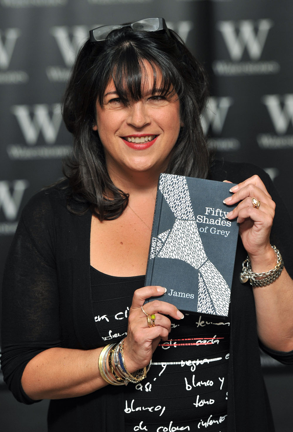 Cele Bitchy Author El James Puts Out 50 Shades Of Grey