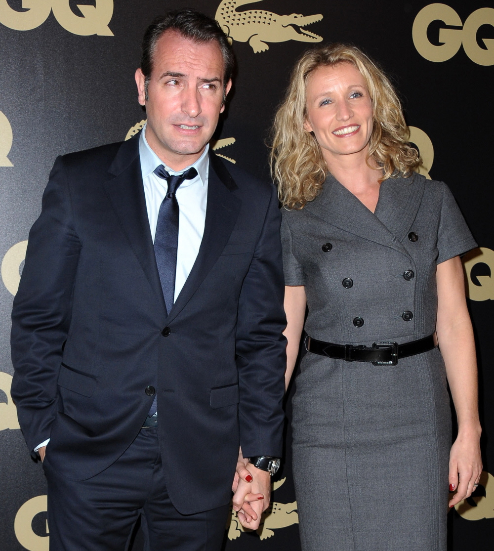 Cele bitchy jean dujardin splits from his wife of four for Jean dujardin parents