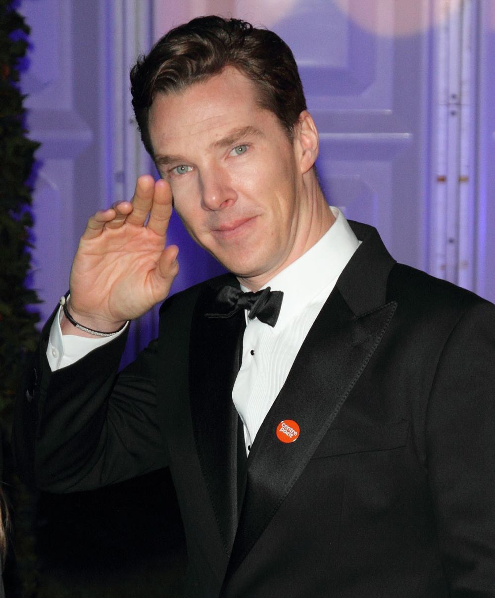 Benedict Cumberbatch has an 'incomplete' simian line in his right hand.