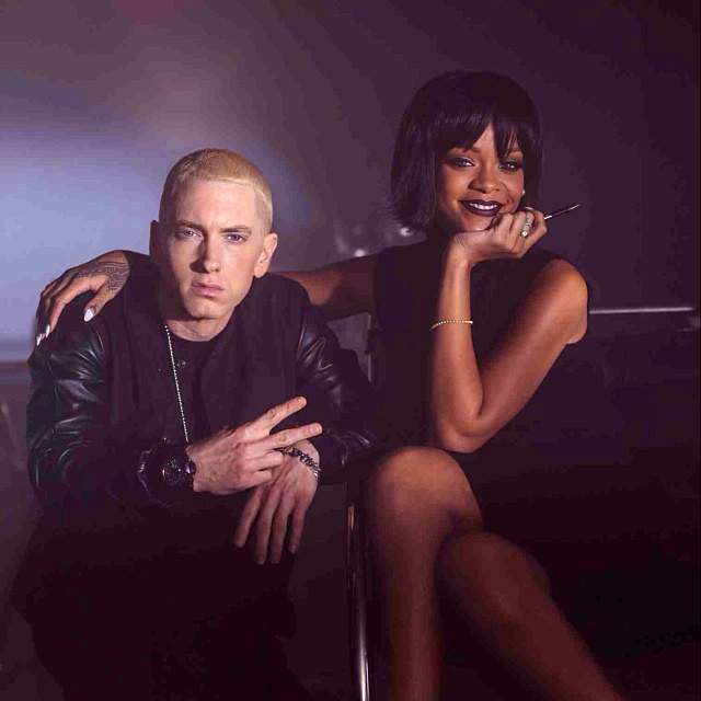 rihanna and eminem relationship with kim