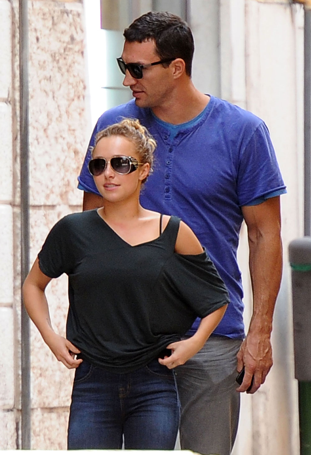 Wondrous Cele Bitchy Hayden Panettiere Mocks Fiances Accent Confusion Hairstyles For Men Maxibearus