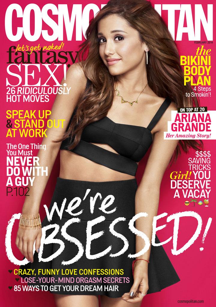 Feb '14 Cosmo Cover - Ariana Grande