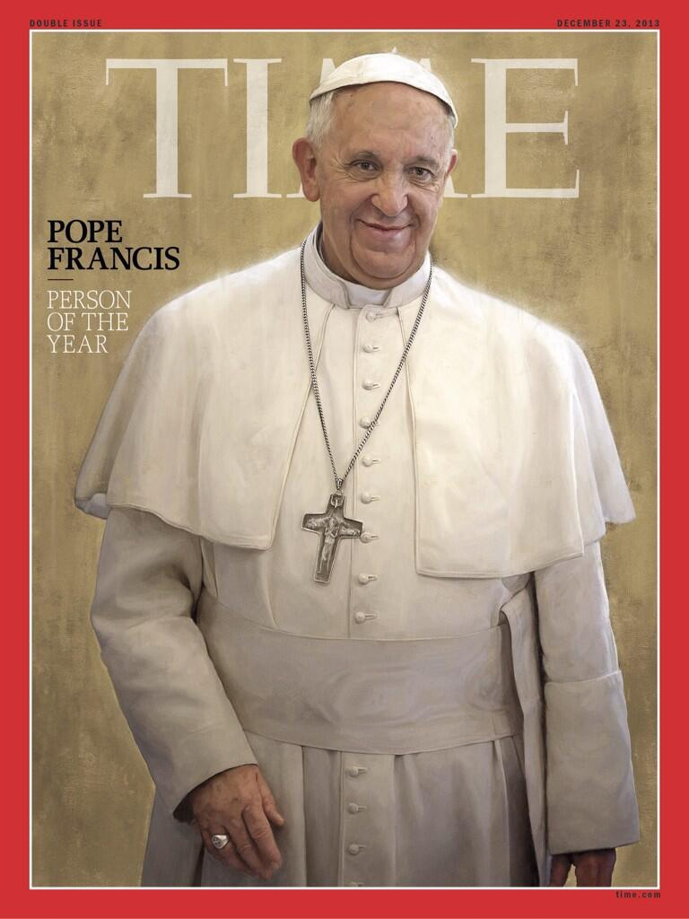pope time mag