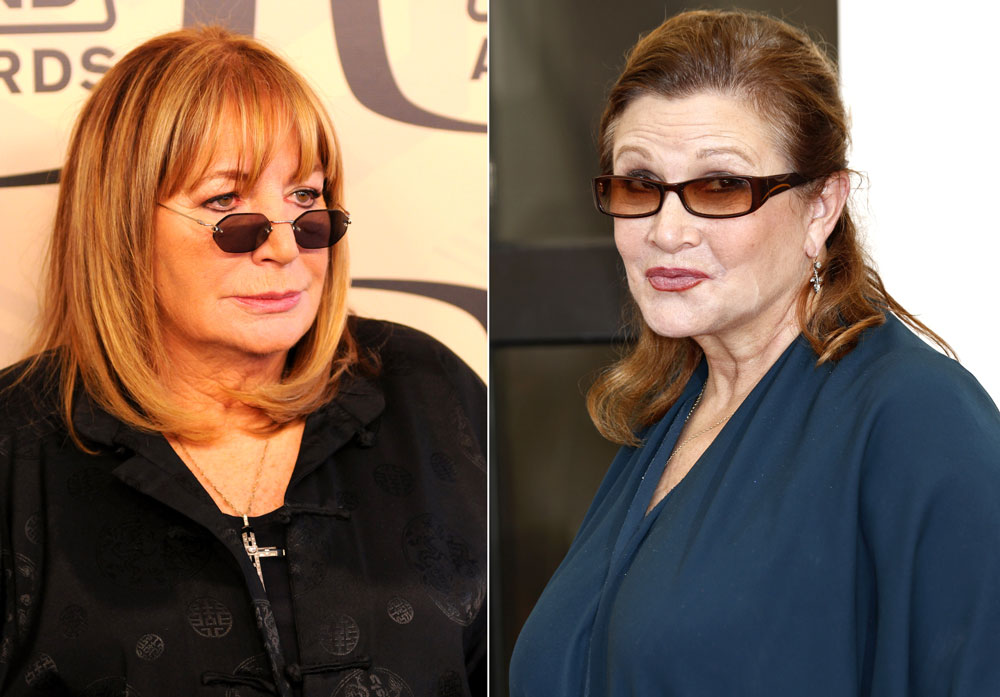 Carrie Fisher Penny Marshall