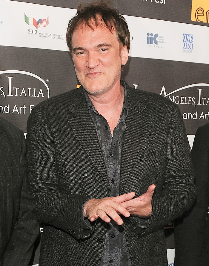 Cele Bitchy Quentin Tarantino Sued Gawker For Leaking A