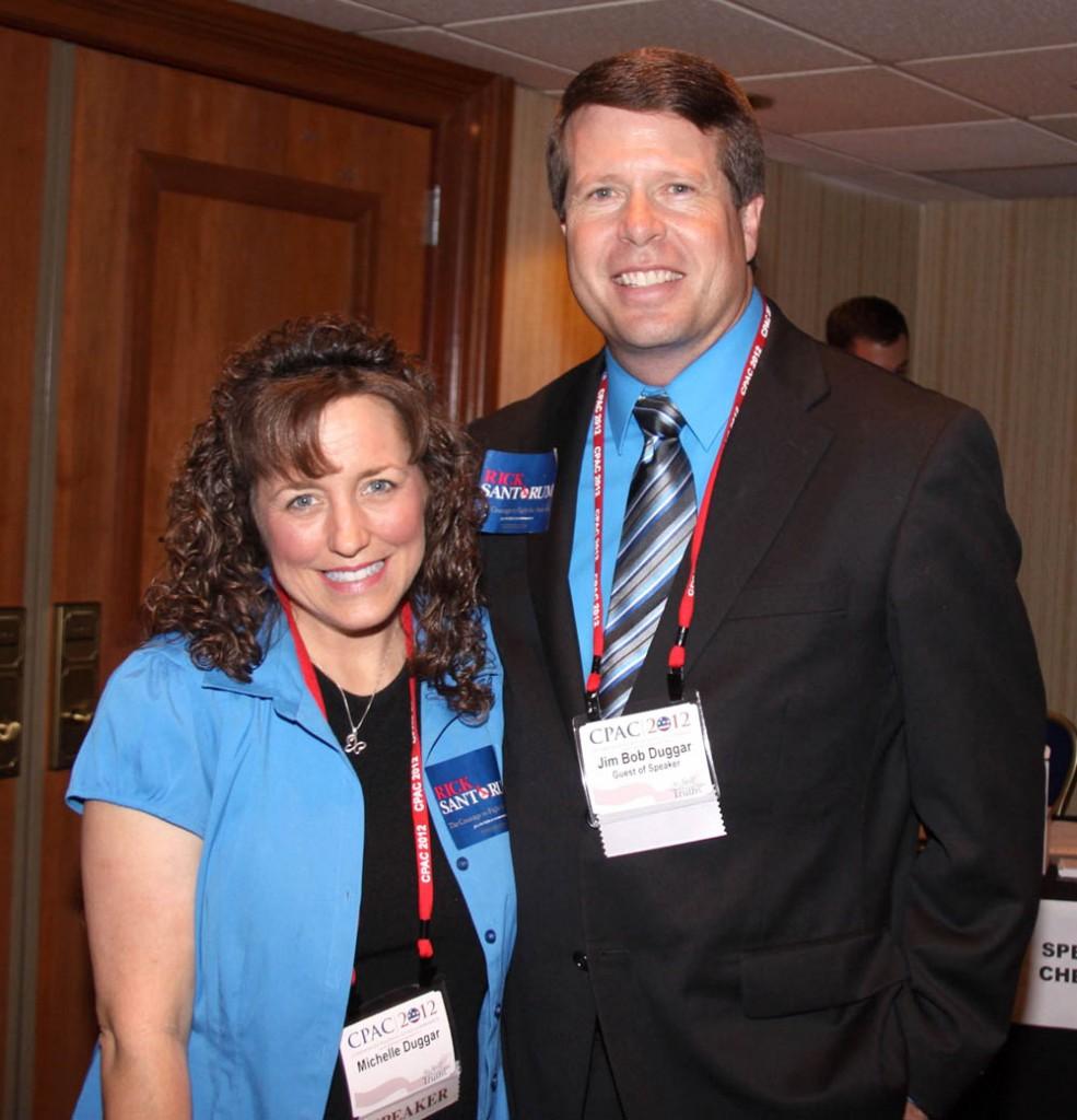 Jim Bob And Michelle Duggar At The CPAC 2012