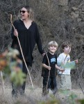 Brooke Mueller Takes Her Boys On A Hike