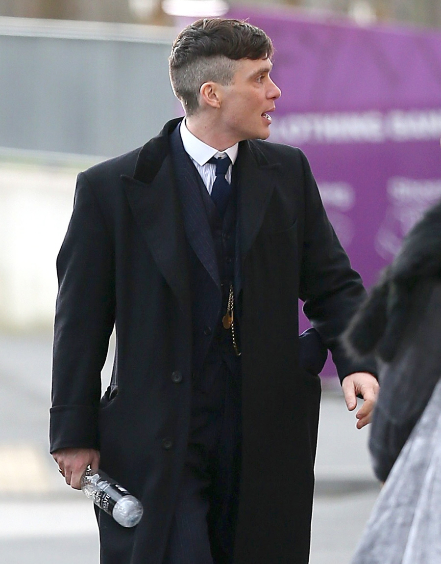 Cele|bitchy | Cillian Murphy shows off his 'Peaky Blinders ...