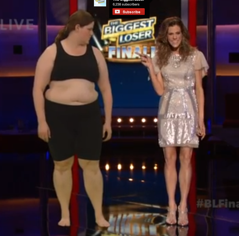 how did biggest loser lose weight