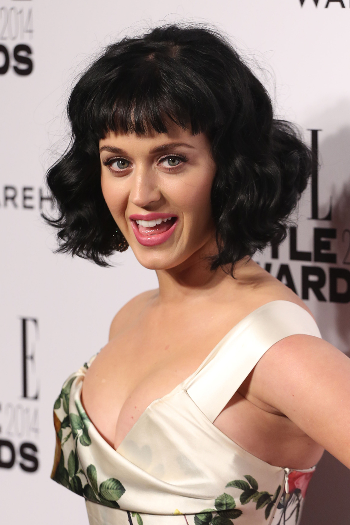 celebitchy katy perry is elle�s �woman of the year� in