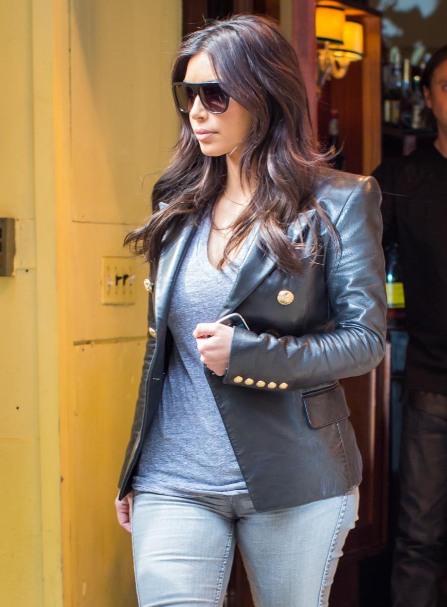 Cele|bitchy | Kim Kardashian: Nori peed on Kanye West during the ...