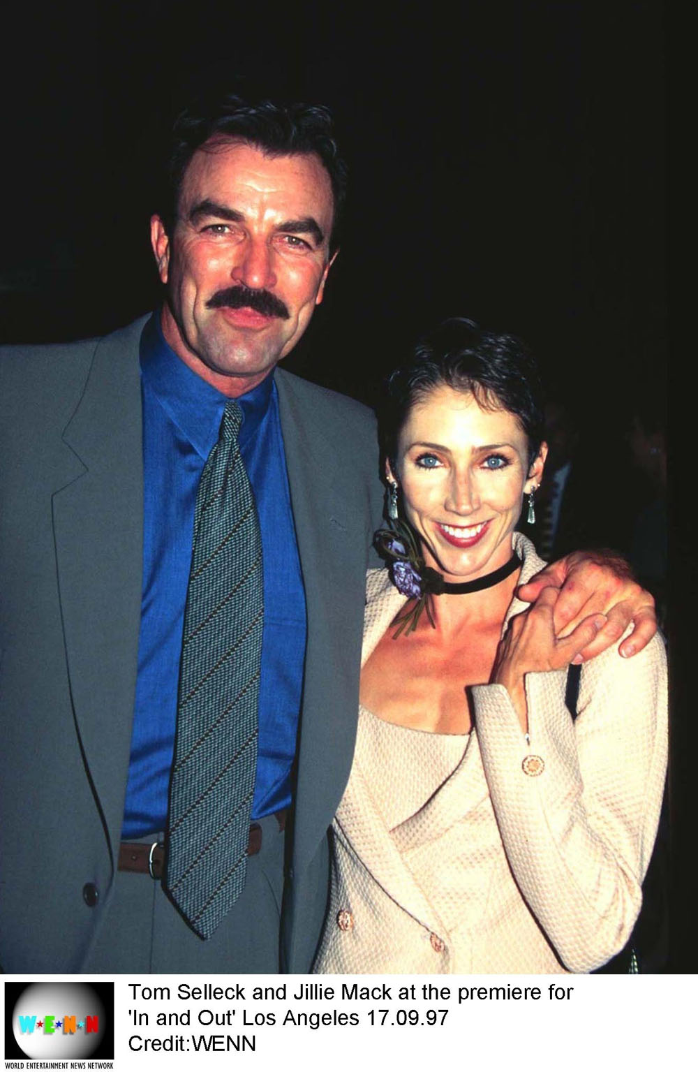 Tom selleck has been married tom selleck first wife