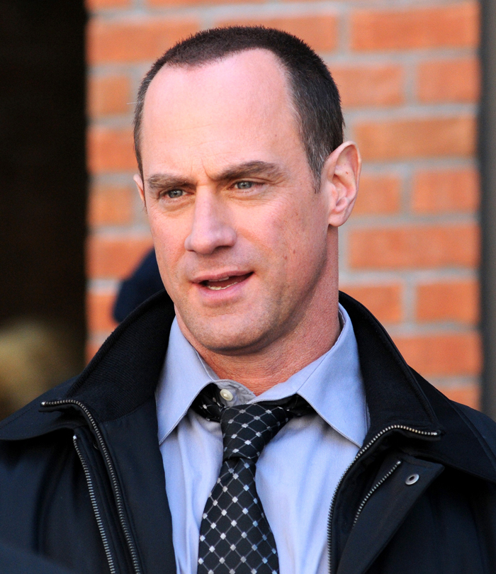 Woman christopher meloni hairy dry facial