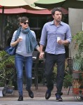 Jennifer Garner & Ben Affleck Lunch At Bricks and Scones