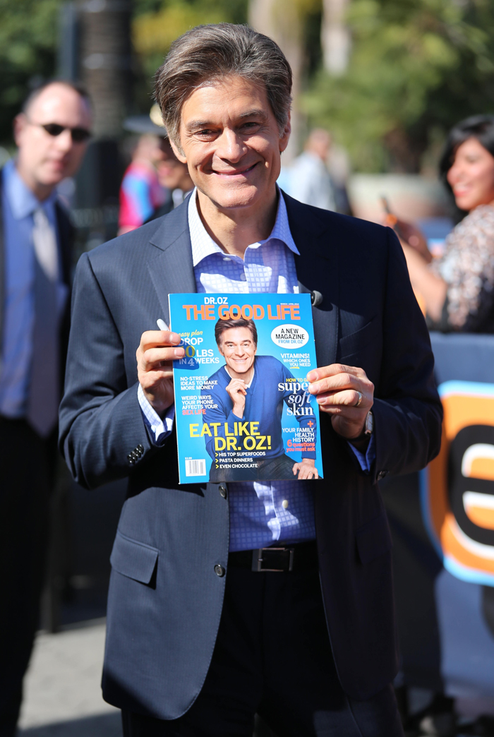 dr mehmet oz is an interesting character i don t watch his dr oz show