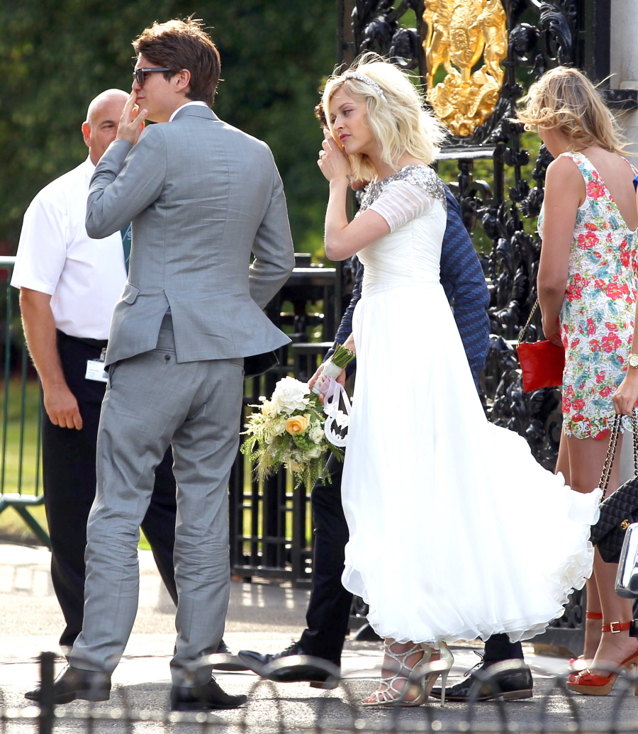 Fearne Cotton's £1,200 Pucci Wedding Gown
