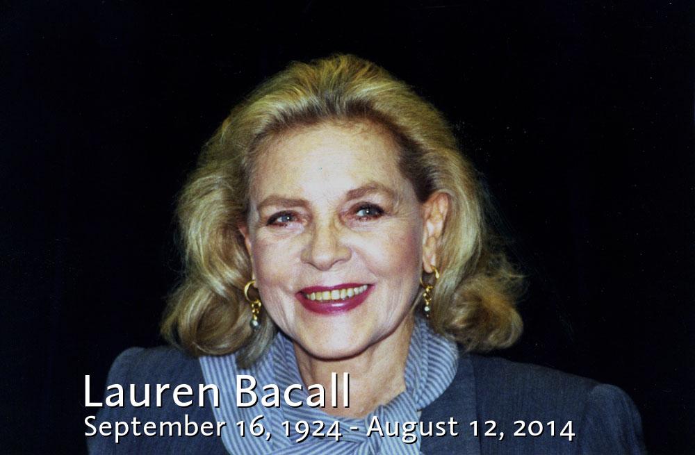 Lauren Bacall gap