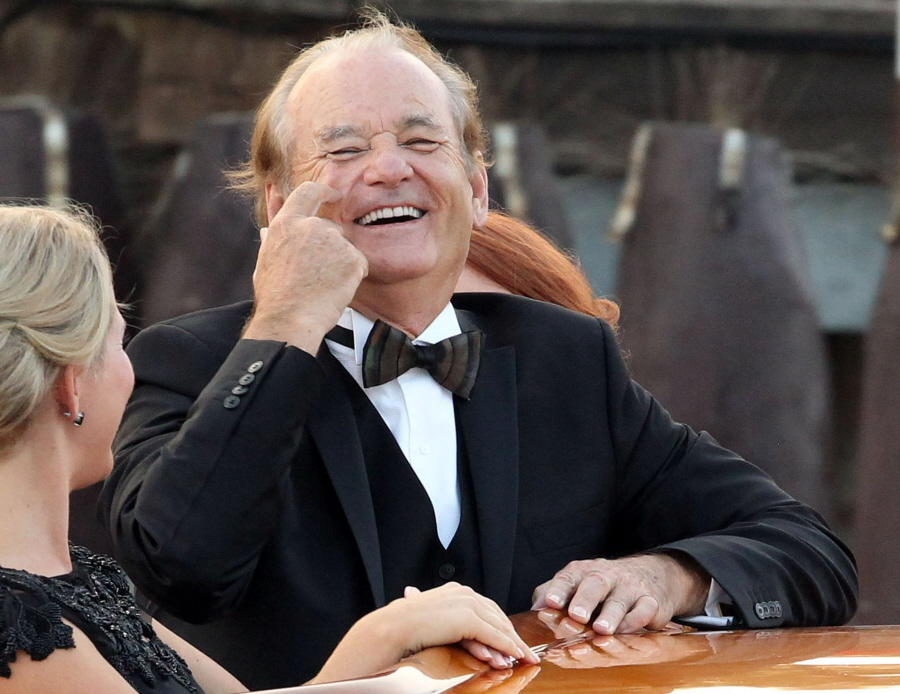 """Bill Murray had the best time ever at the Alamooney wedding"" links"