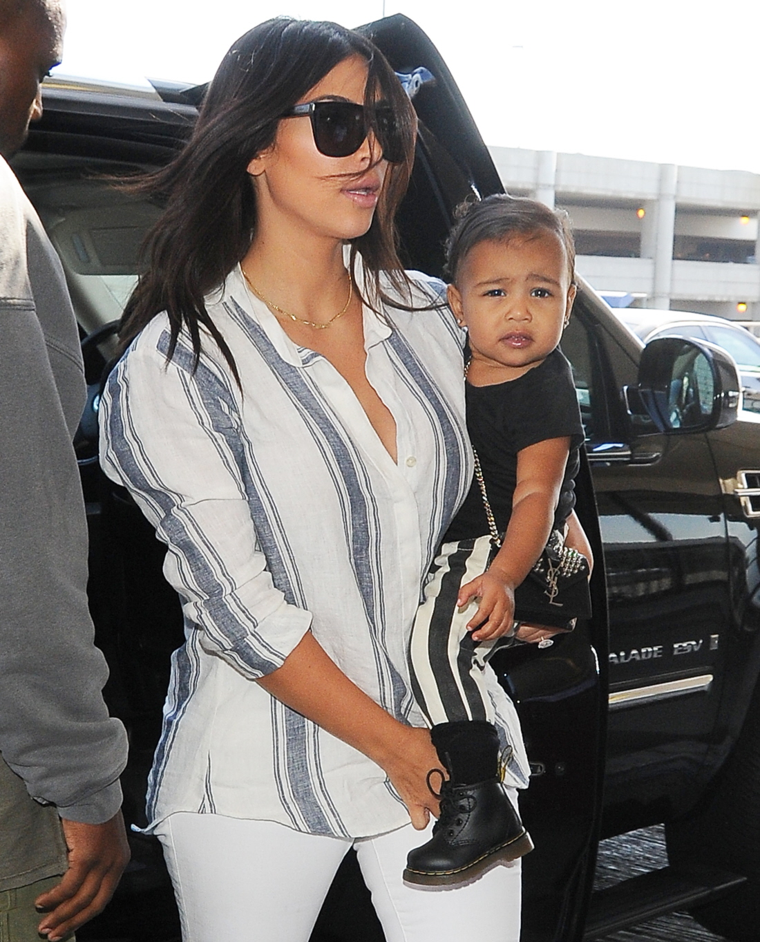 Cele|bitchy | North West\u0026#39;s street style involves YSL bags, baby ...