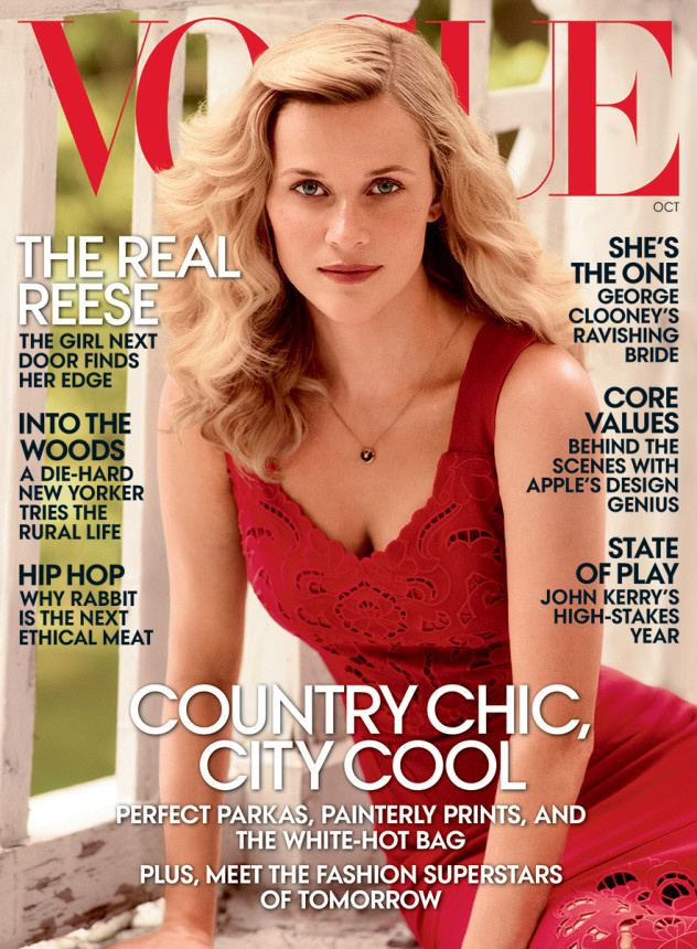 Reese Witherspoon covers Vogue: 'I'm a complex human being'