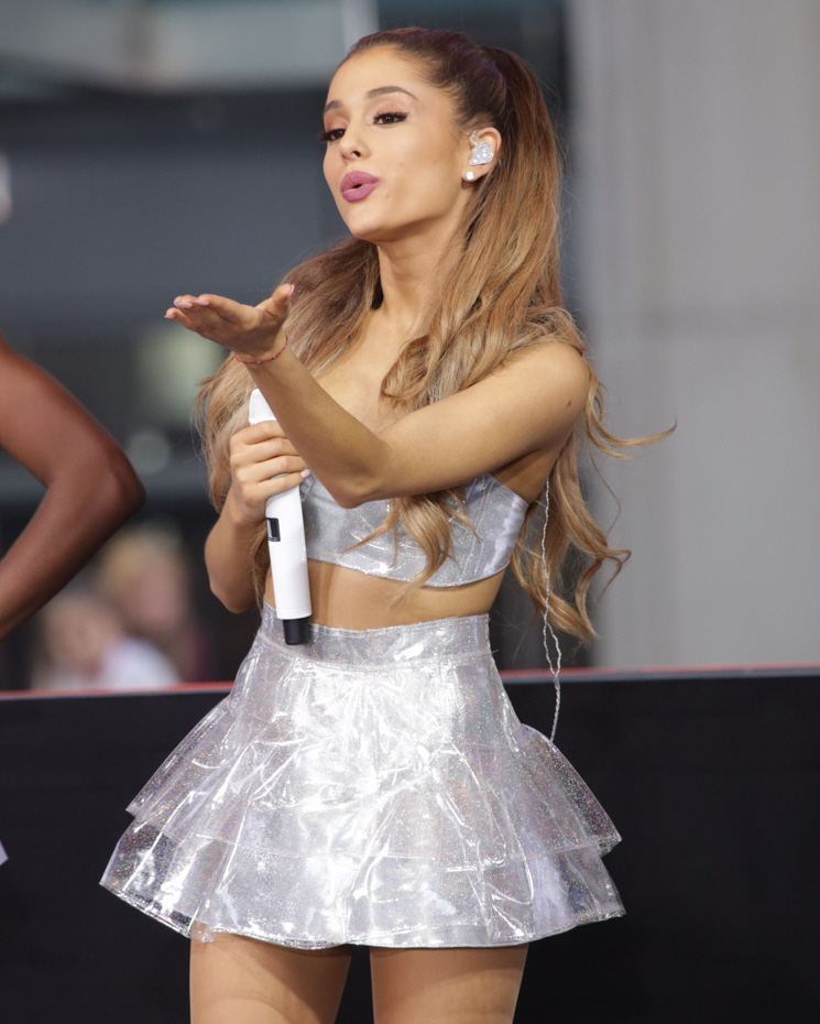 cele bitchy ariana grande seems like a toddler throwing