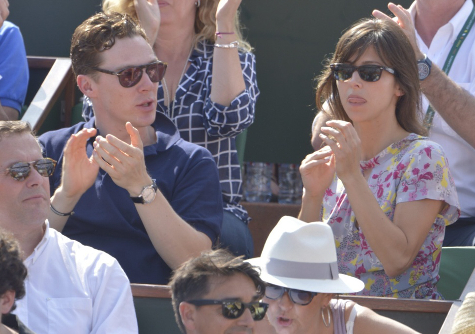 Is Benedict Cumberbatch planning on proposing to girlfriend Sophie Hunter?