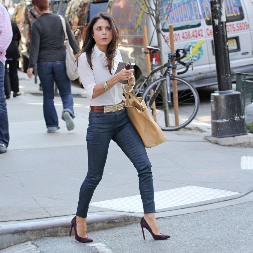 Bethenny Frankel seen out and about in New York City