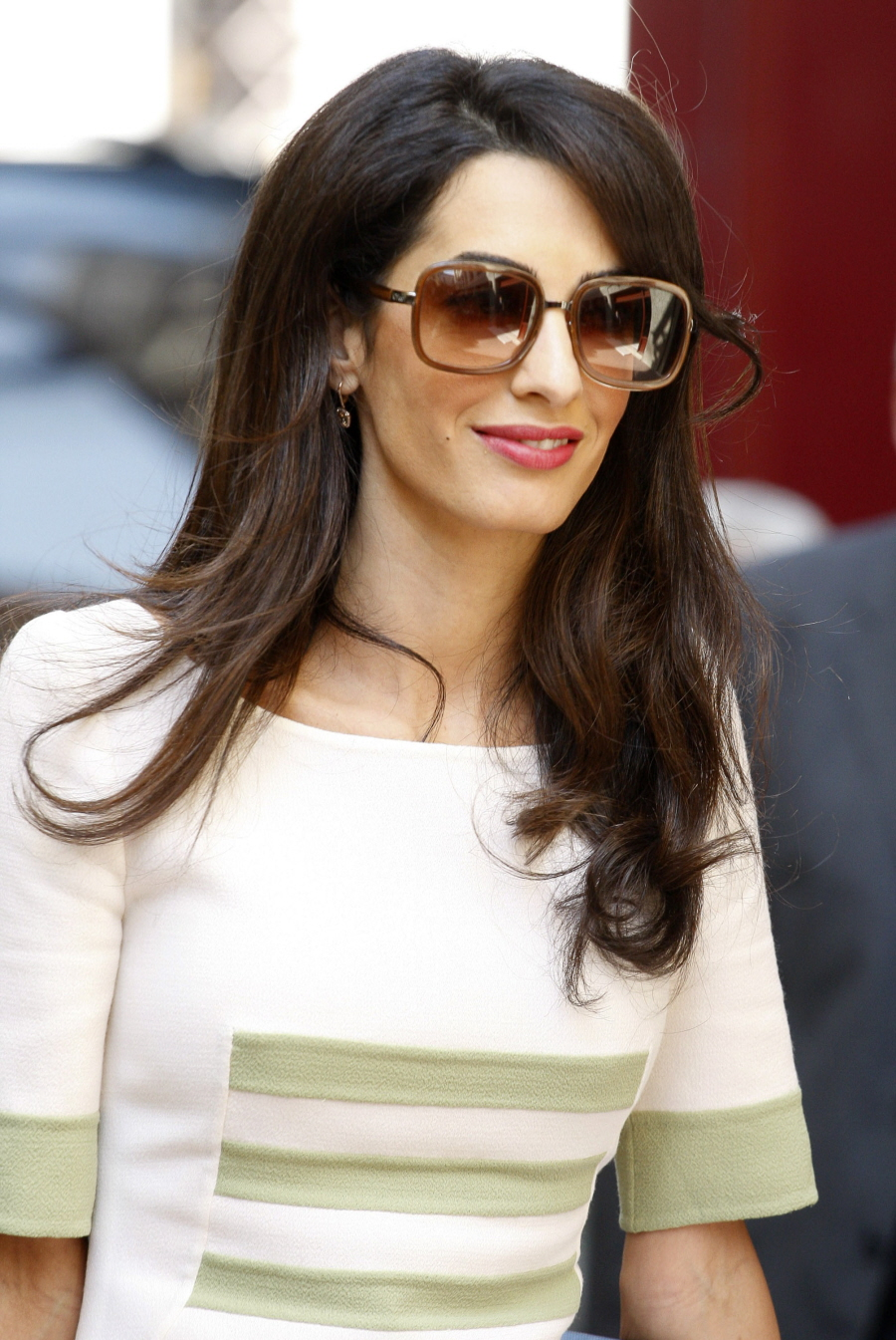 Cele|bitchy | Amal Clooney gets pap'd in Greece looking blowout ...