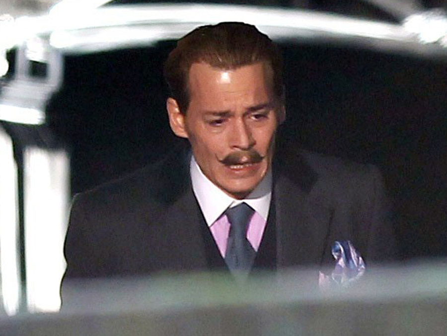 Johnny depp didn t show up for mortdecai reshoots what