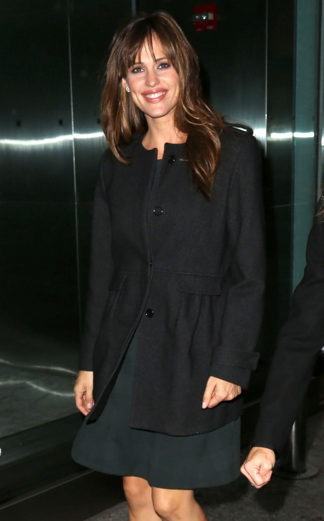 Jennifer Garner Spotted Out In New York