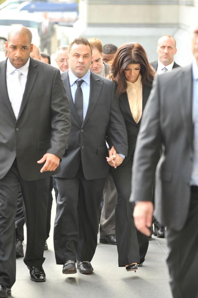 Joe and Teresa Gudice sentencing day