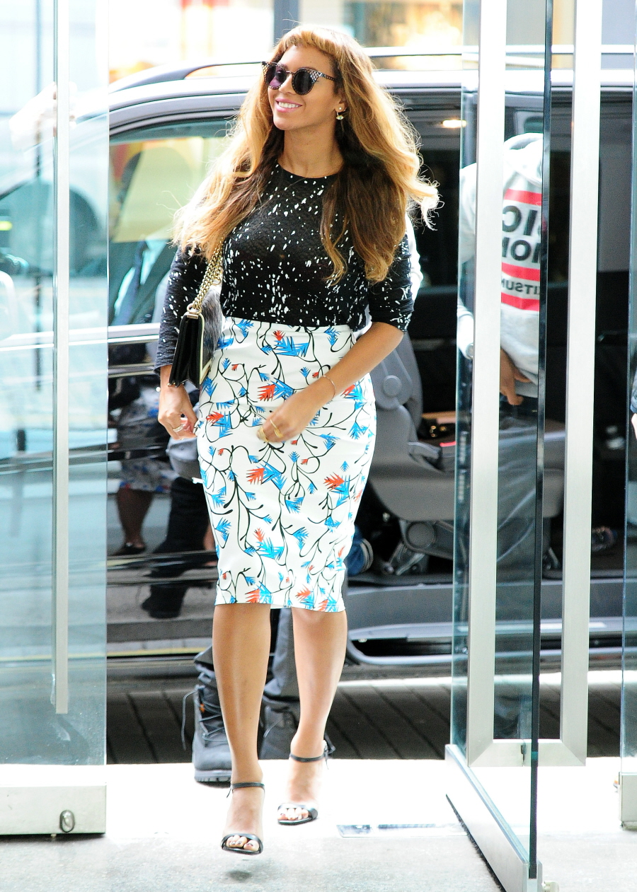 Beyonce Street Style 2014 The Image Kid