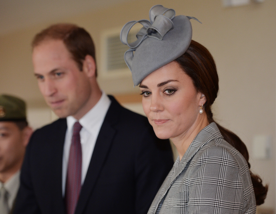 Duchess Kate shops for and buys her own earrings & eternity bands, just FYI