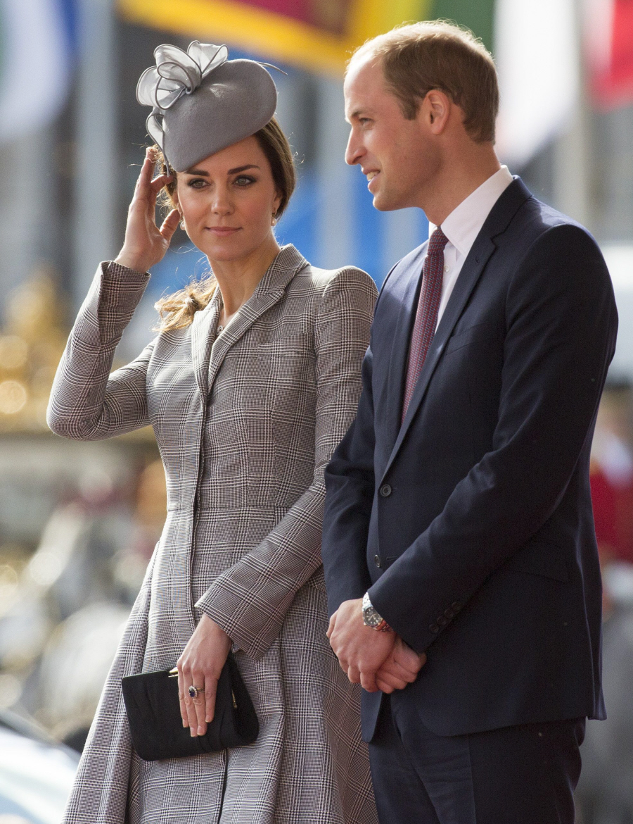 Prince William & Duchess Kate are on vacation again, poor sausages