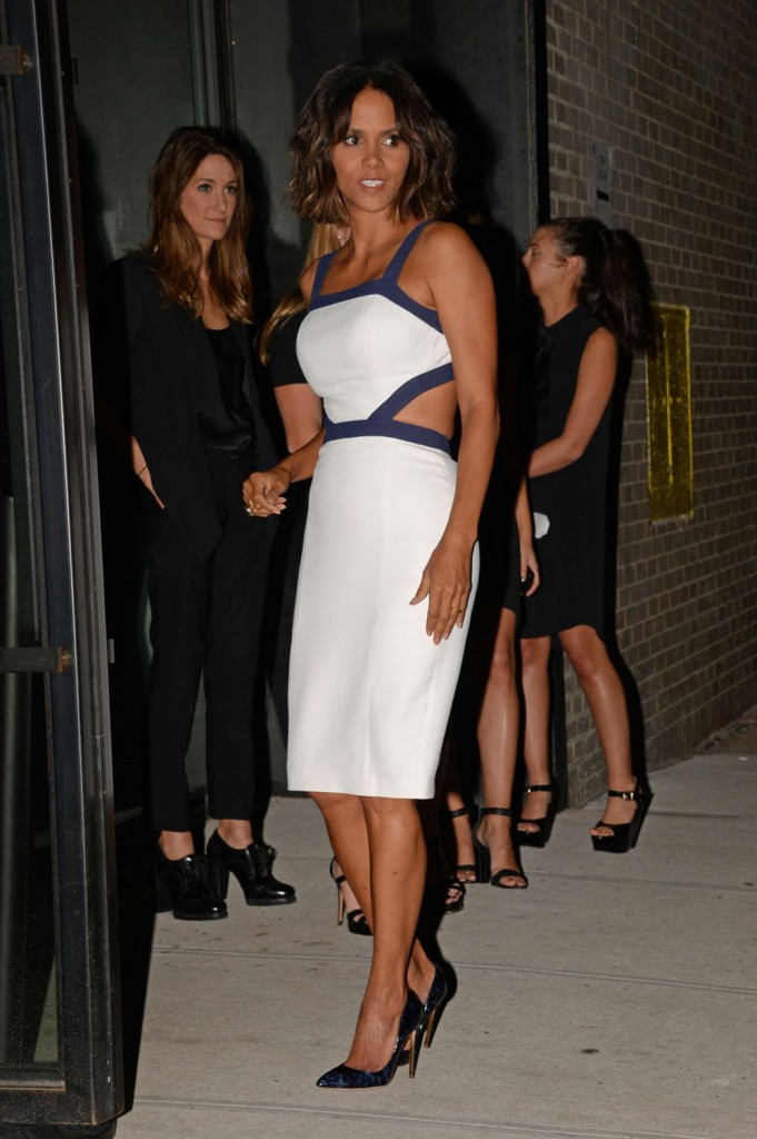 Halle Berry seen going to the Golden Heart Award charity event in New York City