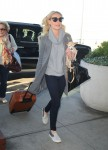 Katherine Heigl arrives at JFK airport in New York City