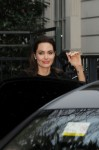 Angelina Jolie seen out and about in Paris