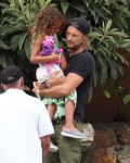 Exclusive... Gabriel Aubry Takes Nahla Out For Lunch