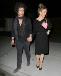 Renee Zellweger & Doyle Dine Out At Cecconi's Restaurant