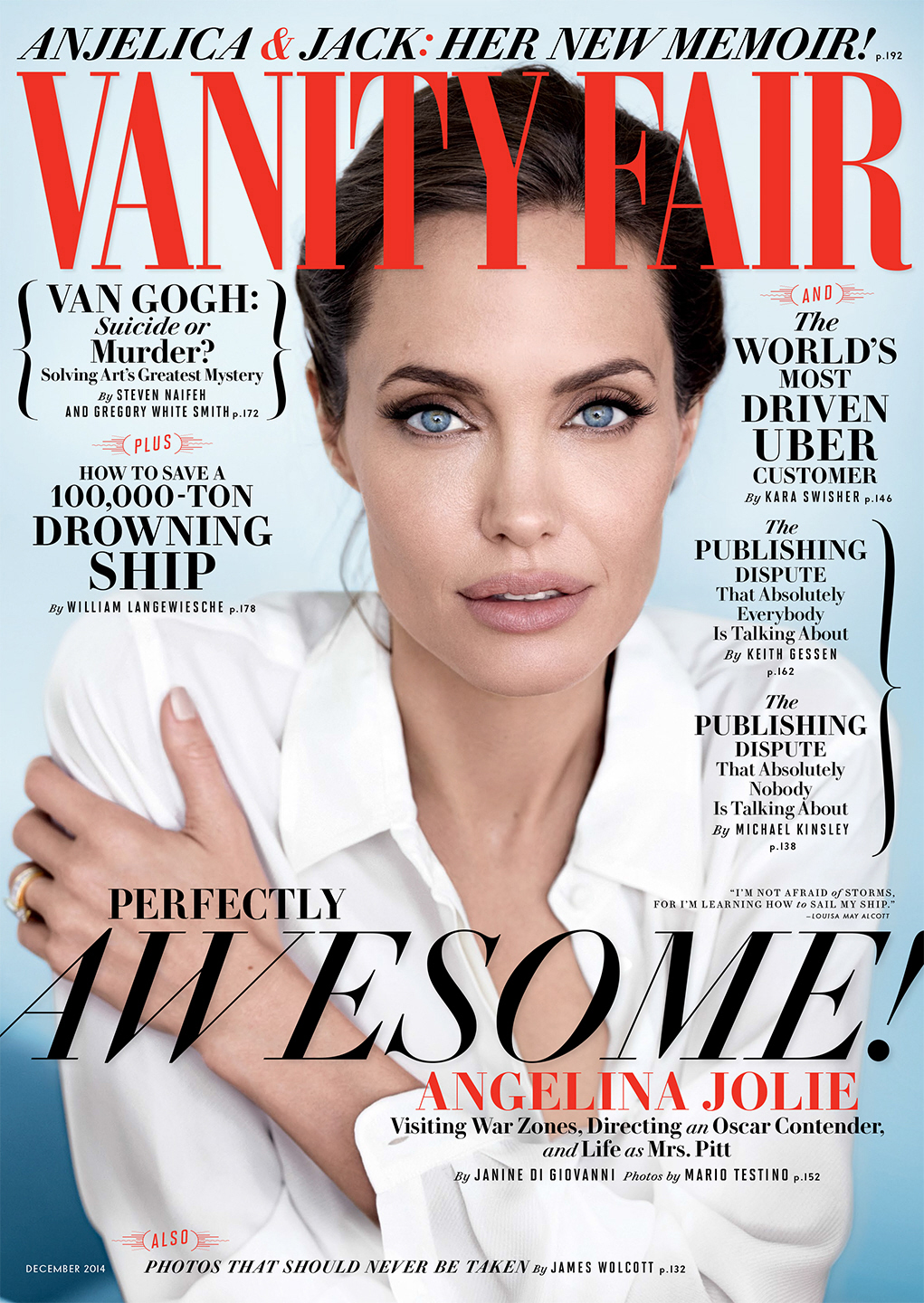 article december cover angelina jolie