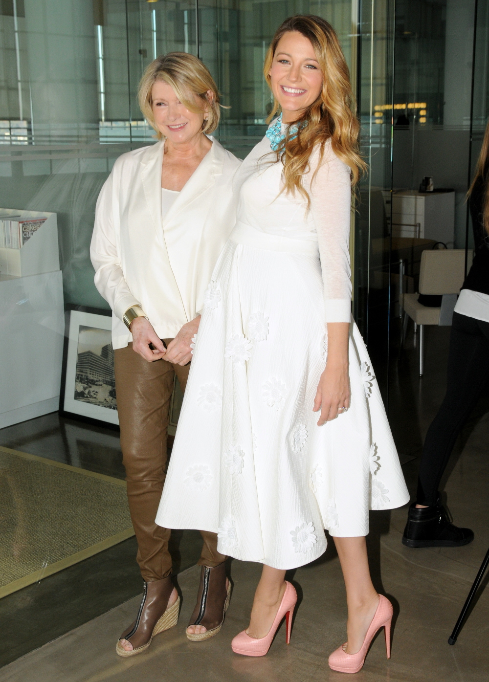 celebitchy blake lively in white michael kors for