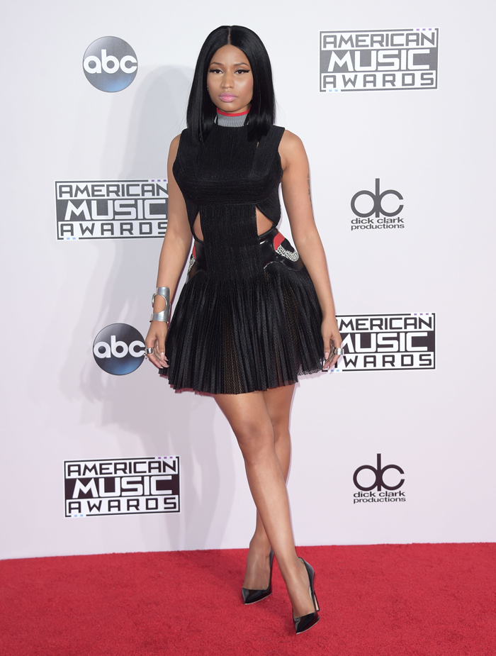 Nicki Minaj in Alexander Wang at the AMAs: beautiful or boring?